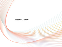 Abstract Lines Background (10컷)